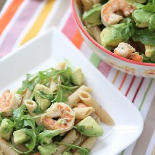 Shrimp and Avocado Pasta.