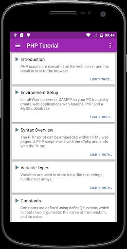 learn web development pro screenshot 3