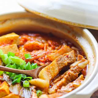 Pork Belly Kimchi Stew Recipe
