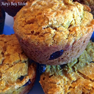 Pleasantly Pumpkin – Applesauce Muffins – no sugar added, low fat.