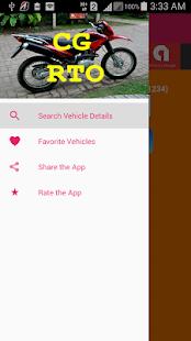Chhattisgarh Vehicle Registration Details screenshot
