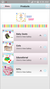 A Baby Shop & Gallery Template - náhled
