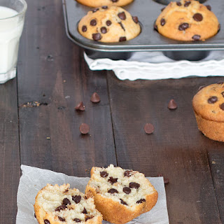 Bakery Style Chocolate Chip Muffins Recipe