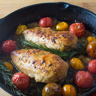 Rosemary Chicken and Tomatoes