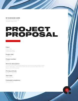 Client Project - Project Proposal item