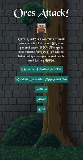 Orcs Attack! | D&D Initiative Tracker & Generators 1.0.4 screenshots 1