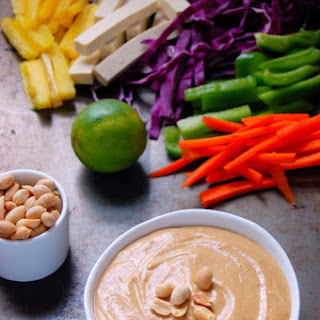 Simple Peanut Sauce.