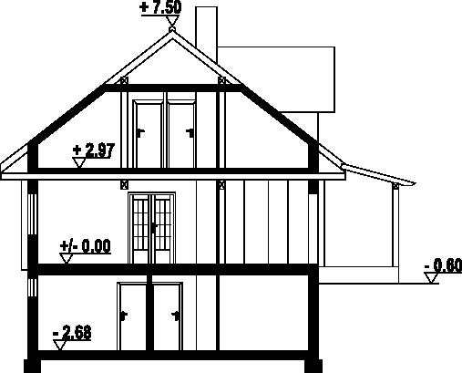 Osiek 29dw - Przekrój