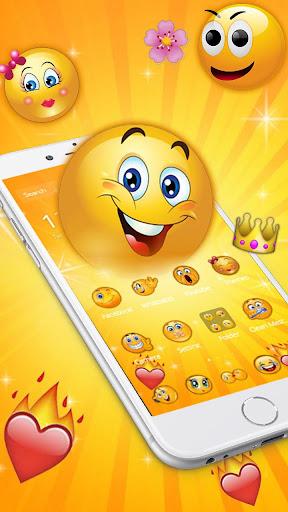 Funny Emoji Theme screenshots 3