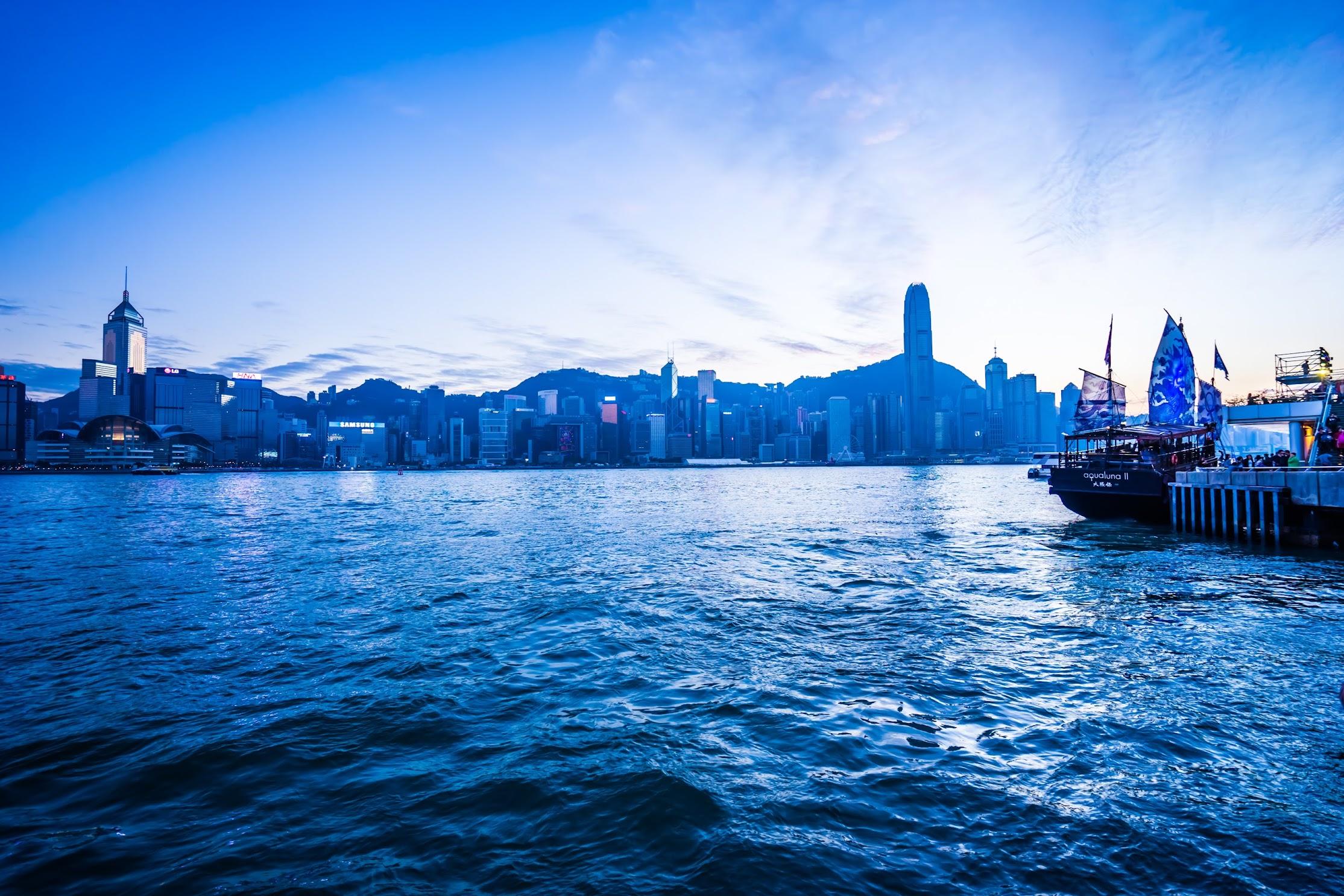 香港 尖沙咀 夕景1