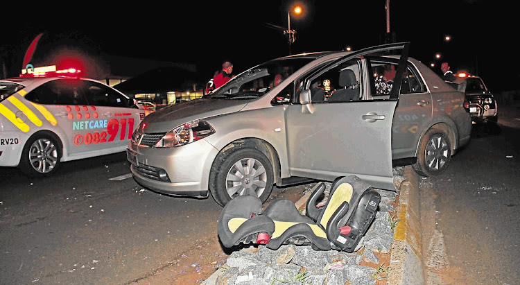 Drunk driving can lead to tragic accidents, such as the one pictured