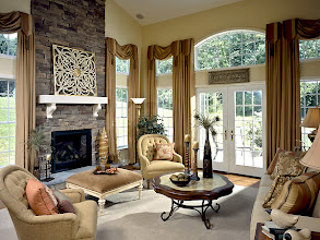 Photo: The great room in the awarding-winning MULBERRY model home at Southwick Meadows in Clifton Park, New York