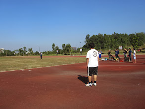Photo: 壘球擲遠