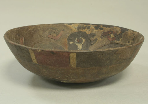 Bowl with Incised Falcoln
