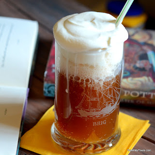 BUTTERBEER FROM THE WIZARDING WORLD OF HARRY POTTER.