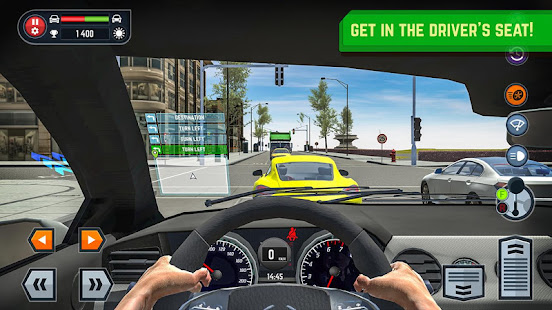 car driving school simulator apps on google play. Black Bedroom Furniture Sets. Home Design Ideas