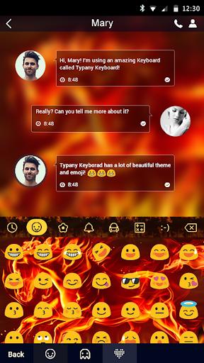 mod Blazing Horse Typany Keyboard 4.5 screenshots 2