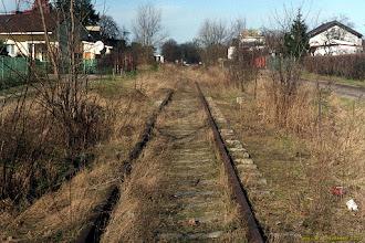 Photo: Dawny tor z Torunia Północnego do Czarnowa {Toruń; 2002-02-15}