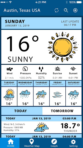 Screenshot for Weather Network Pro Weather Live Today's Forecast in United States Play Store