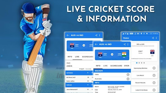 Crick Feed – Live Cricket score & Update 1