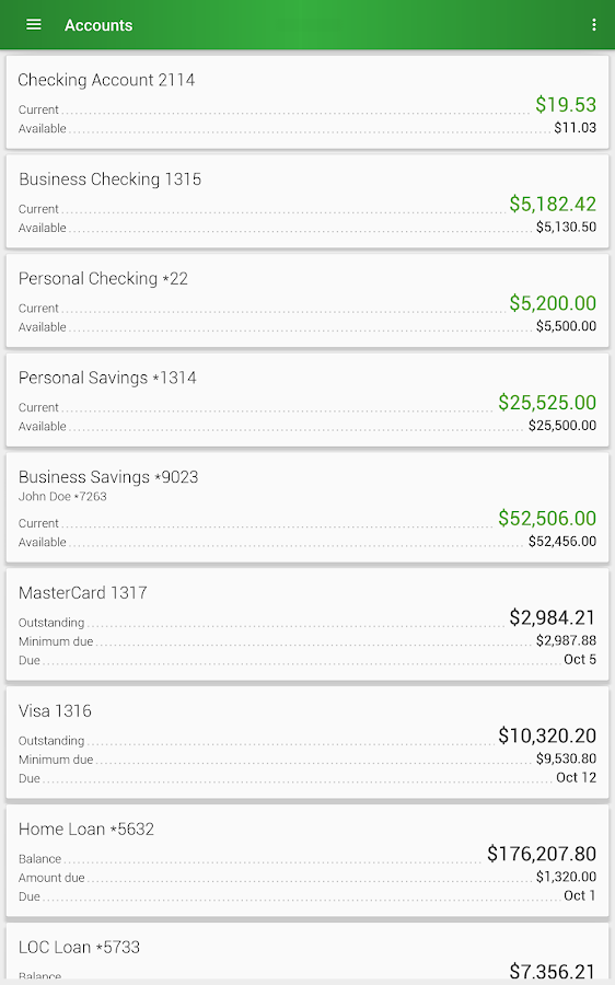 Clinton Savings Bank Mobile- screenshot