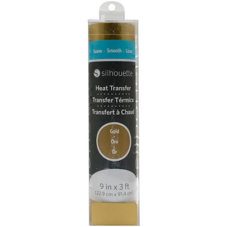 Silhouette Smooth Heat Transfer Material 9X36 - Gold