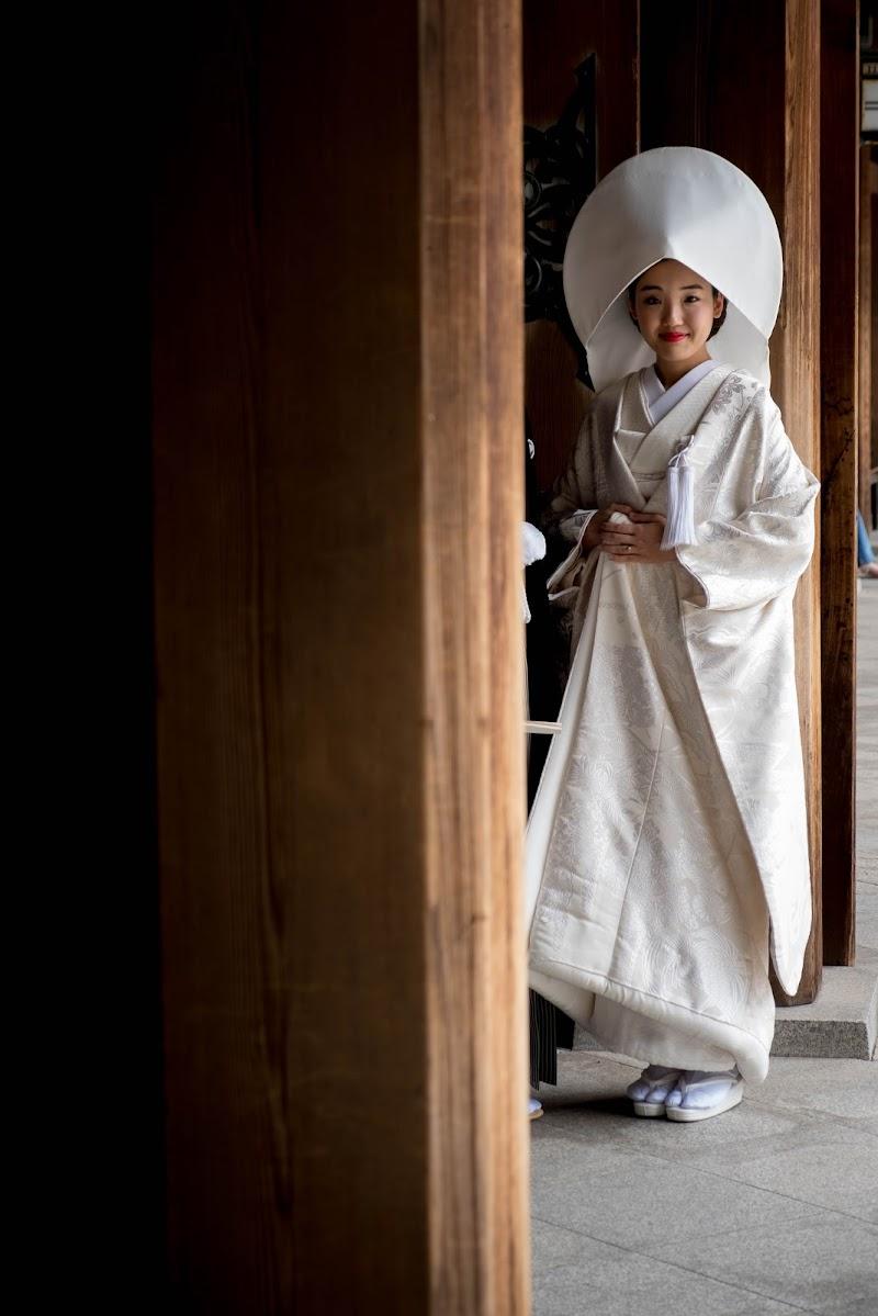 Tokyo - sposa in abito tradizionale di mattia pellegrini