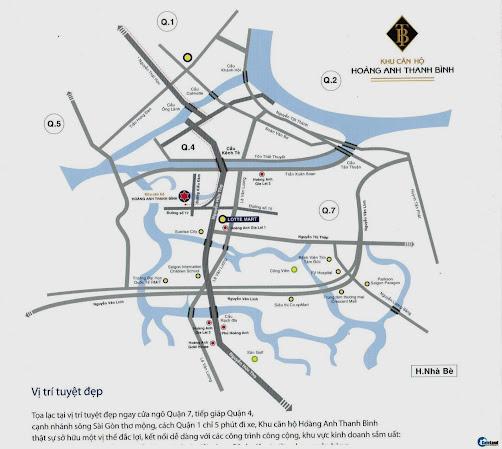 Vị trí căn hộ Thanh Bình