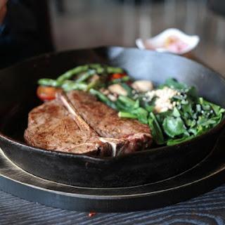 Classic T-bone or Porterhouse Steak