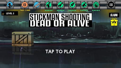 Stickman Shooting : Dead Or Alive screenshot 1