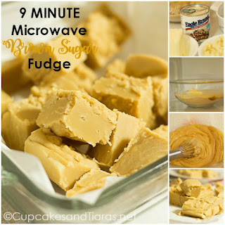 9 Minute MICROWAVE Brown Sugar Fudge