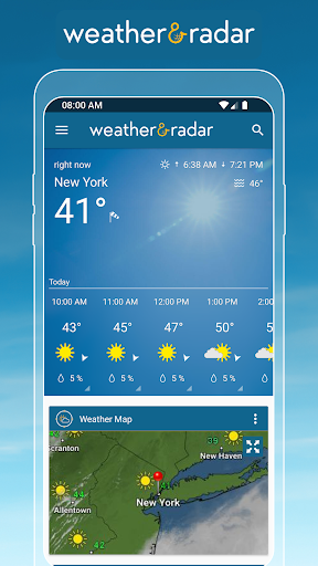 Weather & Radar USA screenshot 1