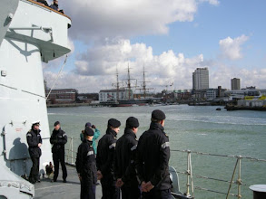 Photo: Leaving harbour