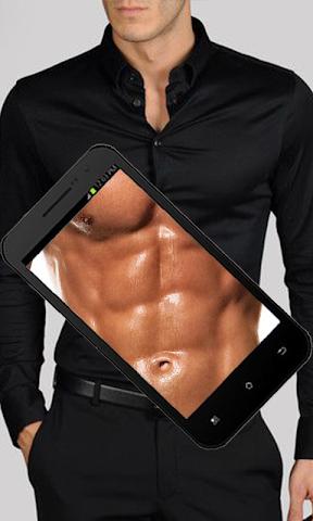 android X_ray Girls cloth scann prank Screenshot 2