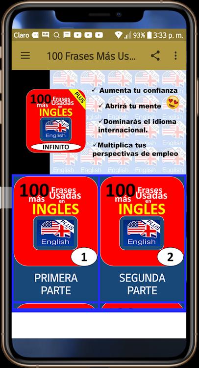 100 Frases Más Usadas En Ingléshable Inglés Android Apps