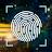 Fingerprint lock screen for prank logo