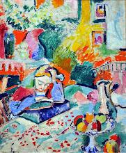 """Photo: Henri Matisse, """"Interno con ragazza che legge"""" (1905)"""