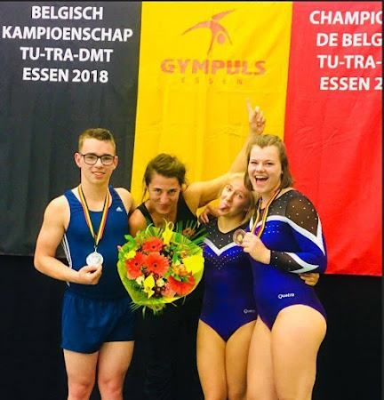 Tumbler Sam D'hoop breekt 9 jaar oude Belgisch record!