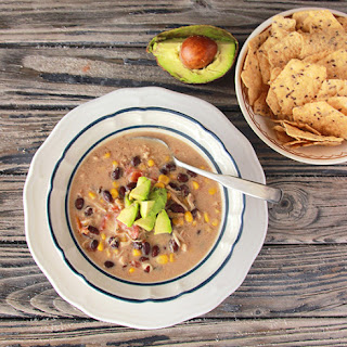 Slow Cooker Chicken Taco Soup.