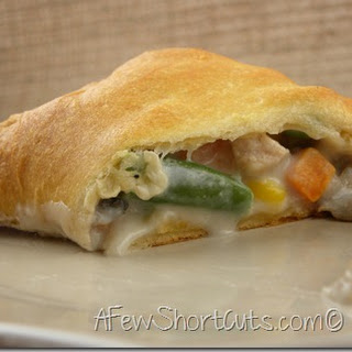Turkey Pot Pie Pockets