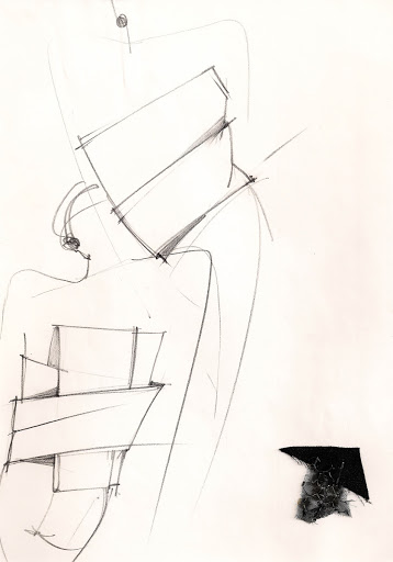 Gianfranco Ferré, Sketch Fall / Winter 1981