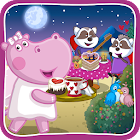 Cooking games: Valentine's cafe for Girls icon