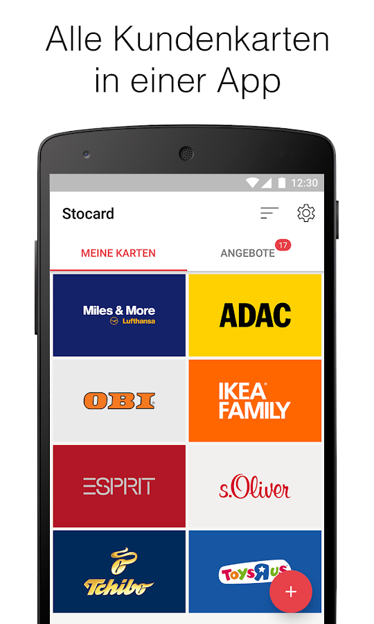 stocard kundenkarten wallet android apps auf google play. Black Bedroom Furniture Sets. Home Design Ideas