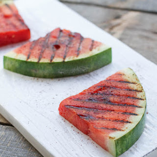 Chile Lime Grilled Watermelon