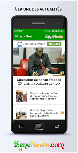SeneNews : News in Senegal ss2