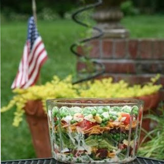 Marinated 8 Layer Salad