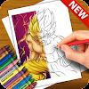 Learn to Draw Dragon Songoku Ballz Characters APK
