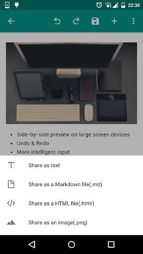 MarkdownX screenshot 3