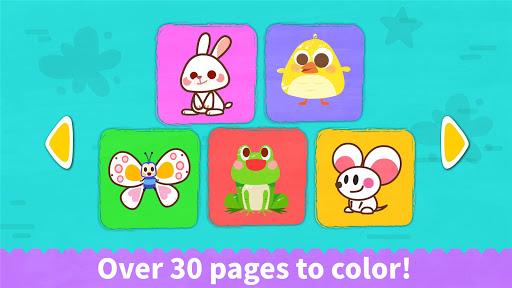 Baby Panda's Coloring Book apkpoly screenshots 5