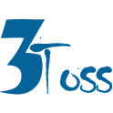 3toss: All in One Online Shopping & Services App icon